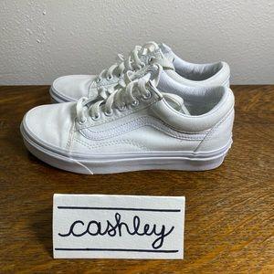 Vans Old Skool White Shoes
